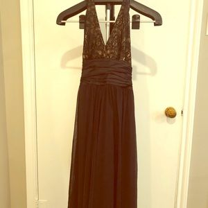 Black semi formal cocktail dress